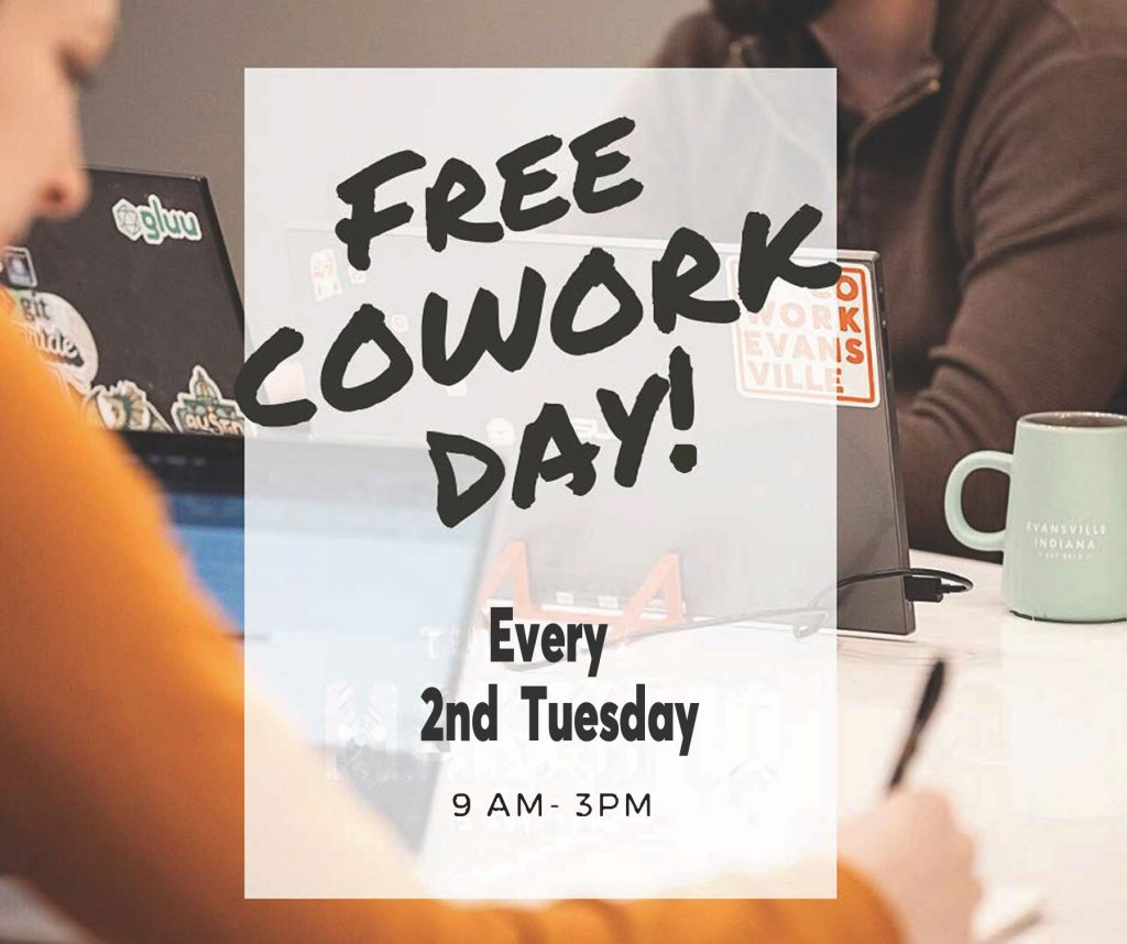 Free Coworking Days Cowork Evansville